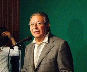 En la conferencia de medios
